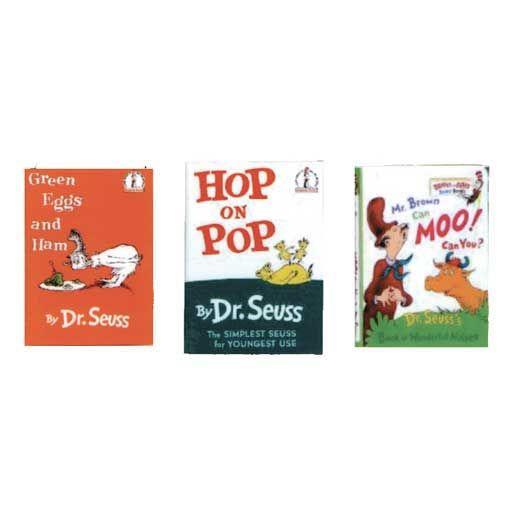 Three Piece Dr. Seuss Book Set