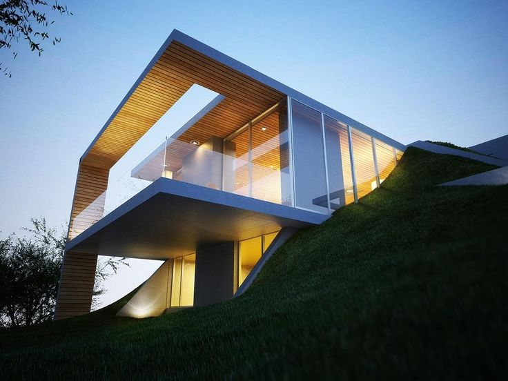 Earth #House by Molos Group #Architects