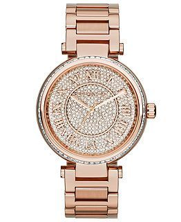 Want - Michael Kors Watch Rose Gold