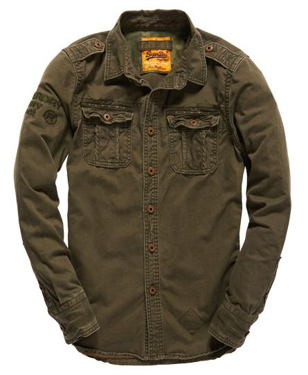 Superdry Camisa Militay Artillery