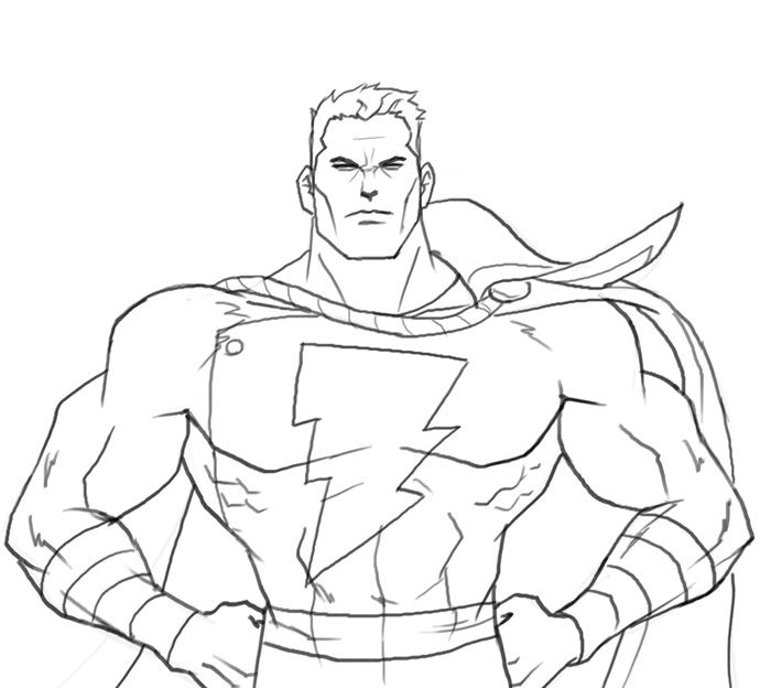 все картинки супергероев карандашом поэтапно что