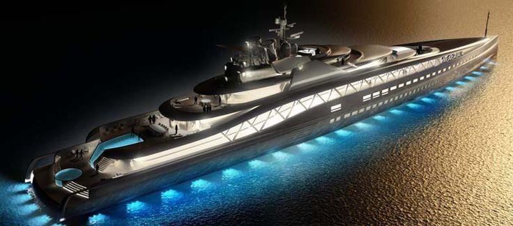 Το γραφείο Ken Freivokh Design, σχεδίασε με τα Fincantieri Yachts ένα φουτουριστικό, ταχύτατο και πολυτελέστατο νέο γιοτ, που φέρει το όνομα Fortissimo