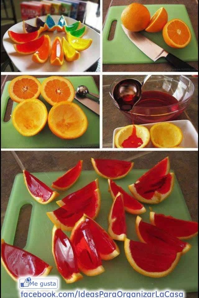 jelly in oranges!!!