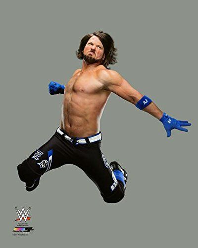 AJ Styles - WWE Photo (2016 action) 11x14