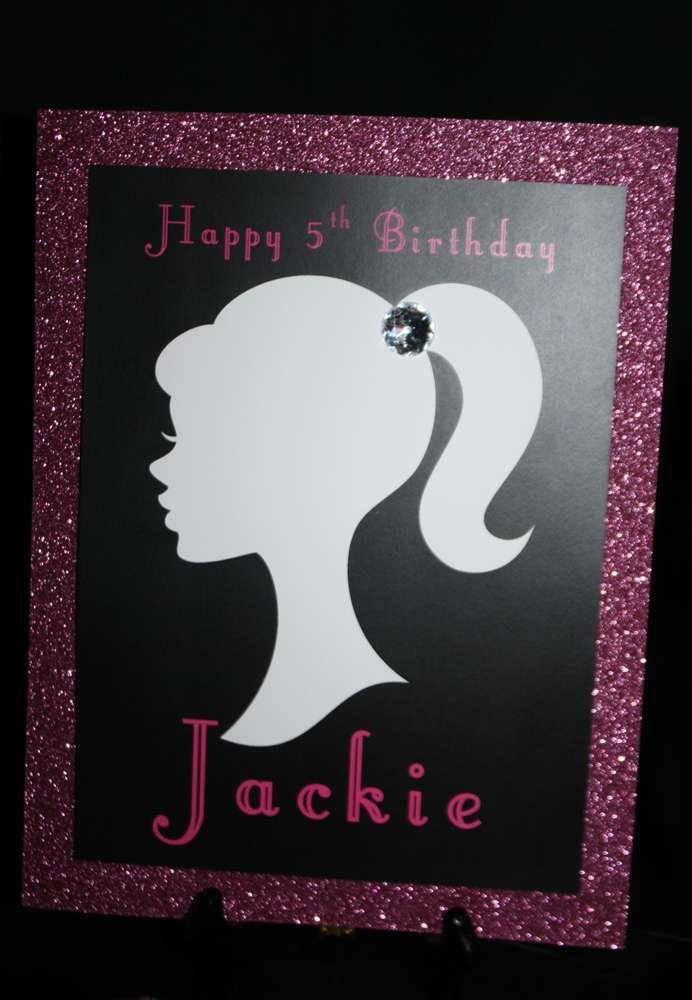 Twin's Barbie Birthday Party   CatchMyParty.com