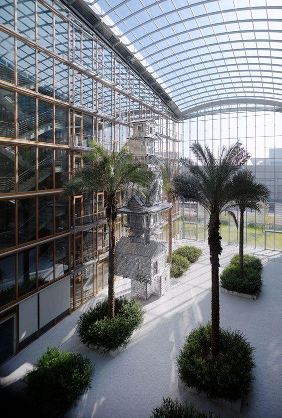Lufthansa Aviation Center   Frankfurt Am Main Germany   WKM Landschaftsarchitekten « World Landscape Architecture – landscape architecture webzine