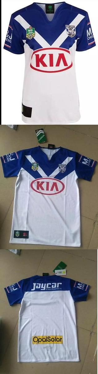 Rugby 21563: 2017 Bulldogs Rugby Jerseys Home Doggies -> BUY IT NOW ONLY: $30.99 on eBay!