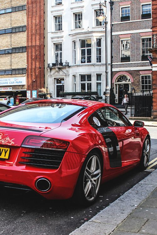 Audi R8 #cars #fast #speed Check out the Audi limited edition snapback cap on the site bloompepper.com Use the code Pinit10 to save 10%