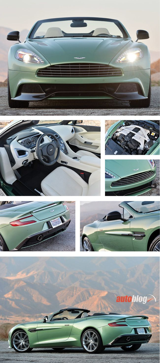 We drive the 2014 @Aston Hickman Martin Vanquish Volante. Our review: --> http://aol.it/1eQgK52