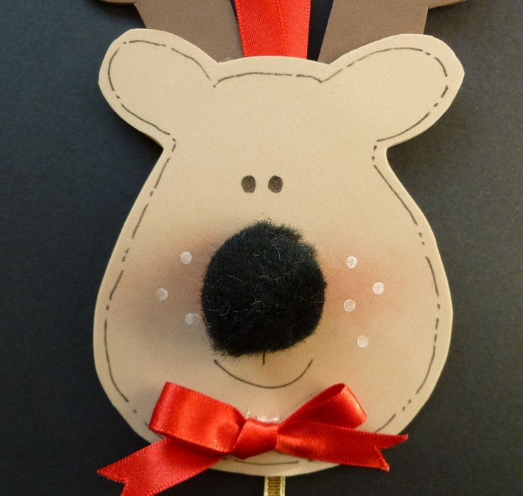 Close up of Rudolph's face.