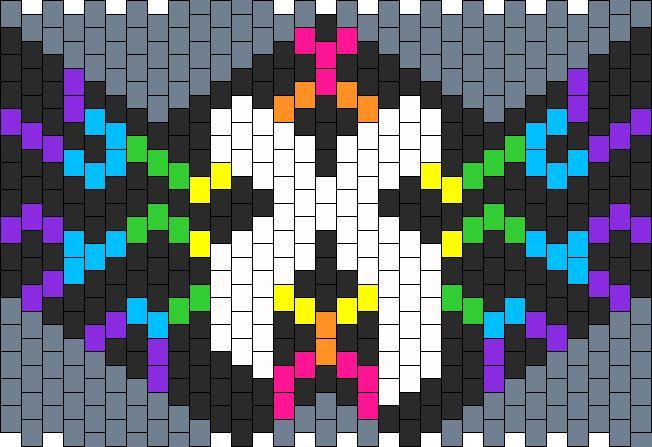 Electric_Rainbow_Excision_mask by Darkangel16 on Kandi Patterns
