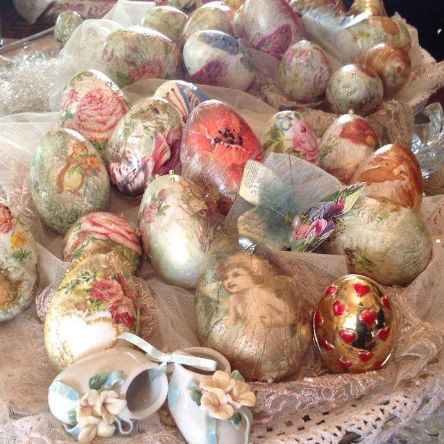 Ζουζουνομαγειρέματα: Πασχαλινά αυγά με τη μέθοδο ντεκουπάζ!