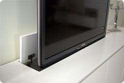 TV wegwerken dmv lift?