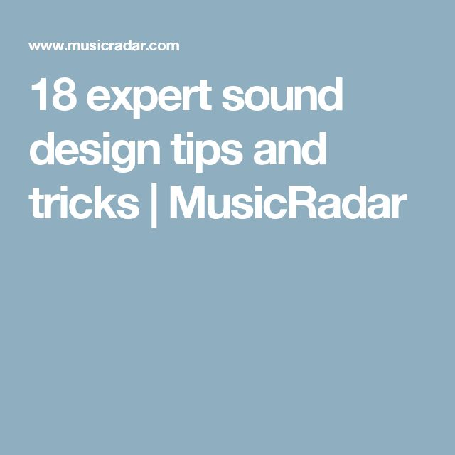 Designer Tips And Tricks For: 18 Best Theatre Audio Images On Pinterest