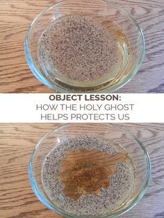 LDS Object Lesson: How the Holy Ghost Helps Protect Us. Great and EASY activity about the power of the spirit. | Mormon | Object Lessons for Sunday School | Latter-day Life Hacks
