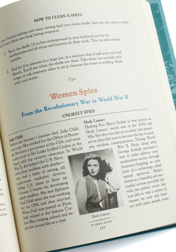 The Daring Book for Girls, #ModCloth