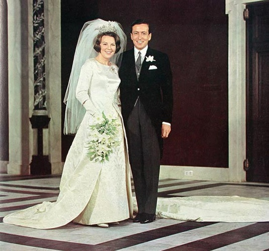 Queen Beatrix of the Netherlands and her husband Prince Claus