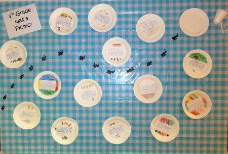 great end of year!: Picnic Board, Bulletin Boards, Photo Sharing, Picnics, Card, School Ideas, Classroom Ideas