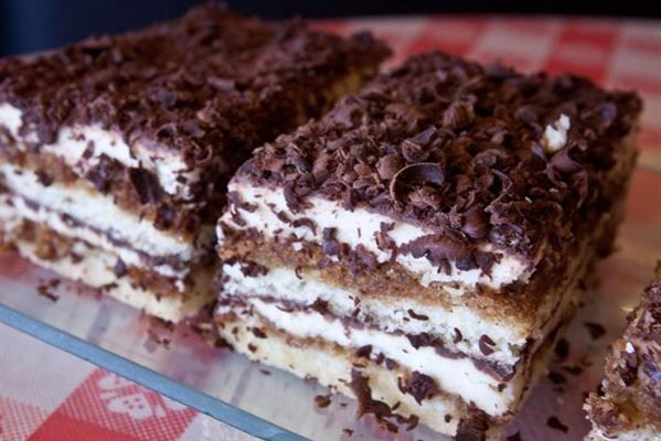 Tiramisu Bar  from Greenwich Village Pizzeria in Los Angeles #Food #Bar #Tiramisu forked.com: Sweets Treats, Creative Foods, Sweet Treats, Food Desserts Drinks, Sweets Thing, Food Bars