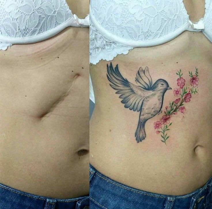 Amazing tattoo cover up.