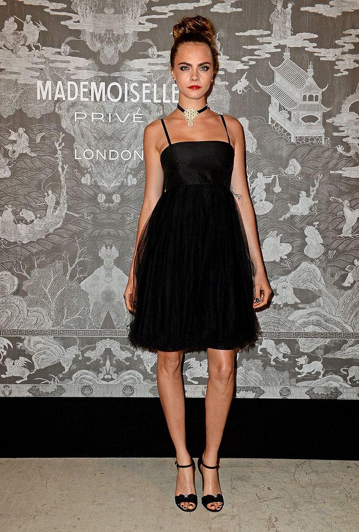Por qué deberás invertir en uno (o dos o tres) Little Black Dress:  Cara Delevingne