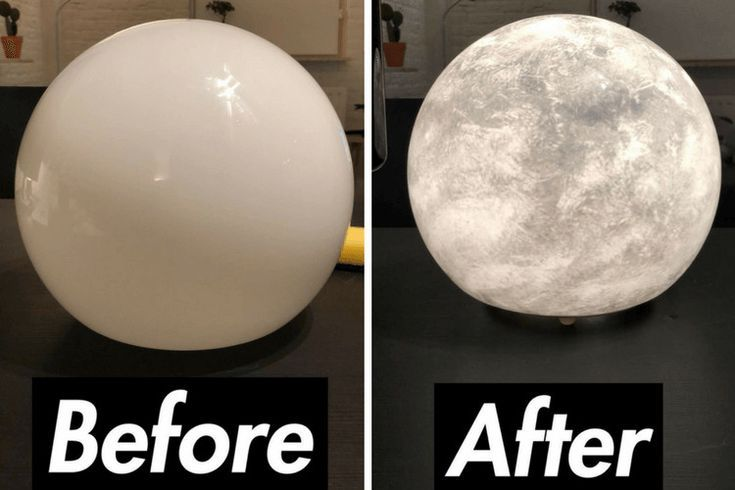 You Know You Want One Moon Lamp Diy Ikea Lamp Diy Lamp Ikea Diy