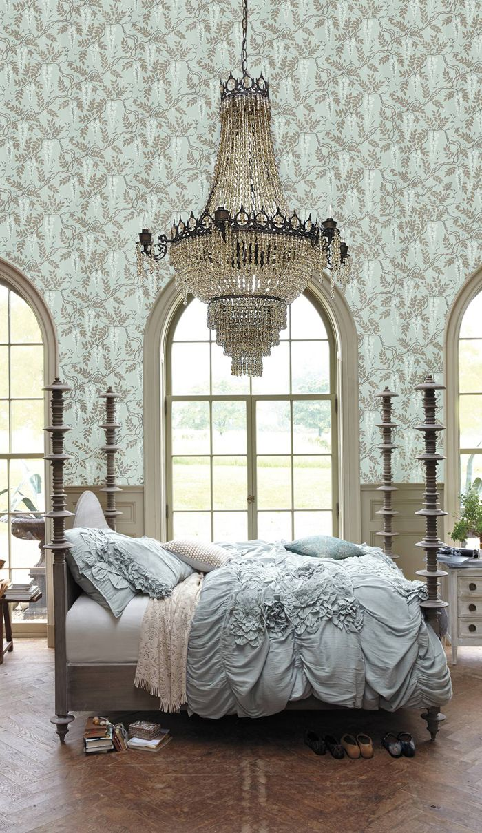 27 Fabulous Wallpaper Ideas For Master Bedroom