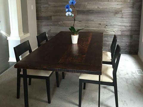 best  about Reclaimed Barn Wood Tables on Pinterest