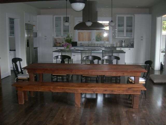 Harvest Kitchen Table 38 best harvest tables images on pinterest farm tables wood kitchen table bench with back workwithnaturefo