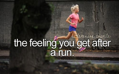 The feeling you get after a run, its priceless -- Calabasas Personal Training. http://carterfitness.com