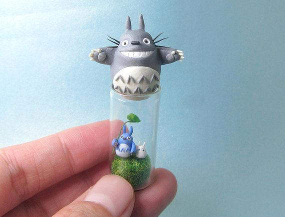 Hey, I found this really awesome Etsy listing at https://www.etsy.com/listing/241564205/the-flying-oh-totoro-the-three-totoros-o