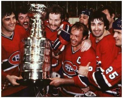 Serge Savard : Premier membre du «Big Three» à atteindre la LNH, Savard fut utilisé de façon sporadique lors de la saison 1967-1968, obtenant de plus en plus de temps de glace à mesure que la saison progressait. Ce printemps-là, une parade de la coupe Stanley fut organisée sur la rue Ste-Catherine pour la troisième fois en quatre ans. Savard devait soulever le précieux trophée à sept autres reprises lors de ses 12 saisons passées à patrouiller la ligne bleue des Canadiens.