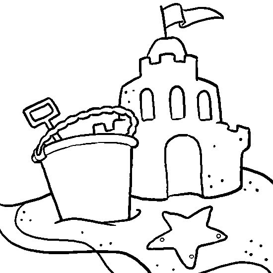 alphabet coloring pages castle - photo#13