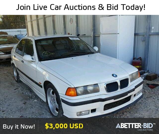Salvage  1997 BMW M3 for Sale - WBSCD0321VEE10777 - https://abetter.bid/en/22027427-1997-bmw-m3_automat