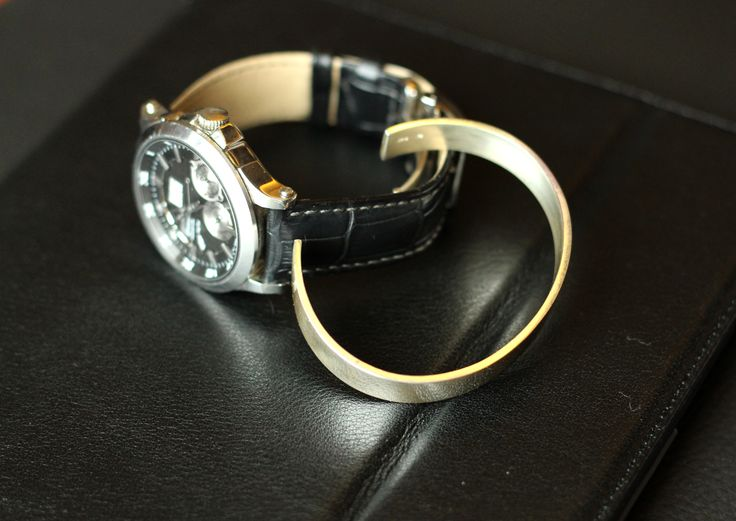 Cuff bracelet for men #cuff #bracelet #silver #menstyle #bylauradarth