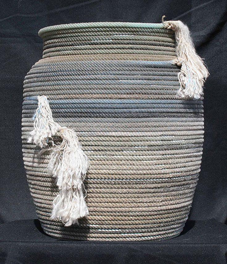 183 best rope creations images on pinterest rope basket baskets and cords. Black Bedroom Furniture Sets. Home Design Ideas