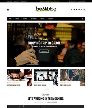 BestBlog WordPress Premium Blogging Theme – Just another WordPress site