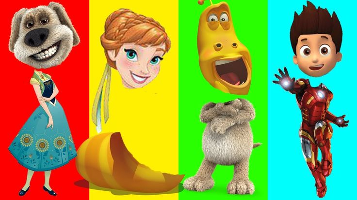 Wrong Heads Princess Anna Larva Talking Ben Ironman Ryder Finger Family Song Learn Colors for Kids Wrong Heads Princess Anna Larva Talking Ben Ironman Ryder Finger Family Song And Learn Colors for Kids https://youtu.be/UiMwXZzaS_Y Subscribe for more Colorful Video: https://www.youtube.com/channel/UCbSuTlWs4hQSmiQb7i3MmGA?sub_confirmation=1 Learn Colors with Animal an Toilet Poop BEARDED BABY CRYING Finger Family Nursery Rhymes…
