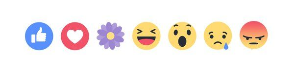 purple pictures to post on facebook | Facebook tests a new reaction icon, a purple flower, on Mother's Day