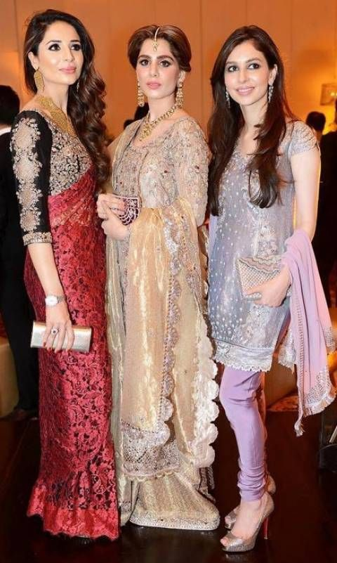 LOOK OF THE DAY: Sahar Murtaza Mahmud, Anum Hyatt and Sasha Rahman