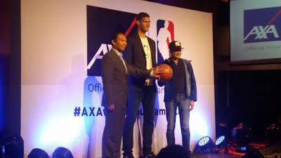 Luckyfinds: Reknowned basketball league NBA forges partnership with insurance provider AXA