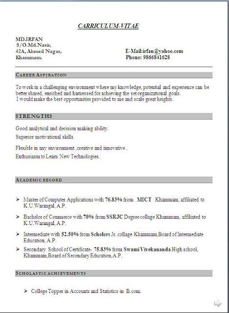 academic cv template word academic cv template curriculum vitae ...