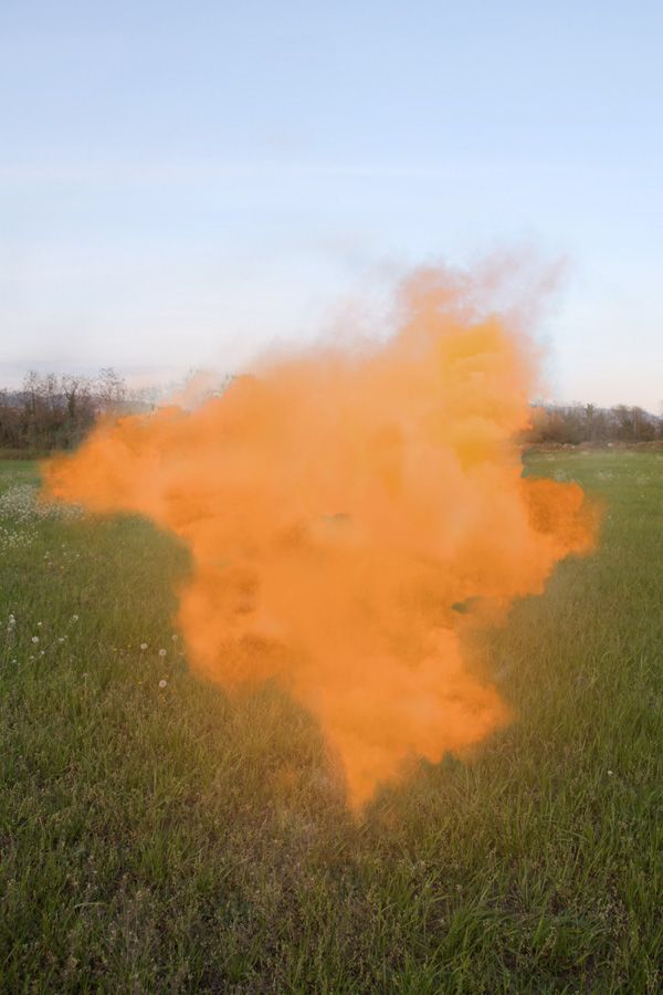 Smoke bombs by Filippo Minelli