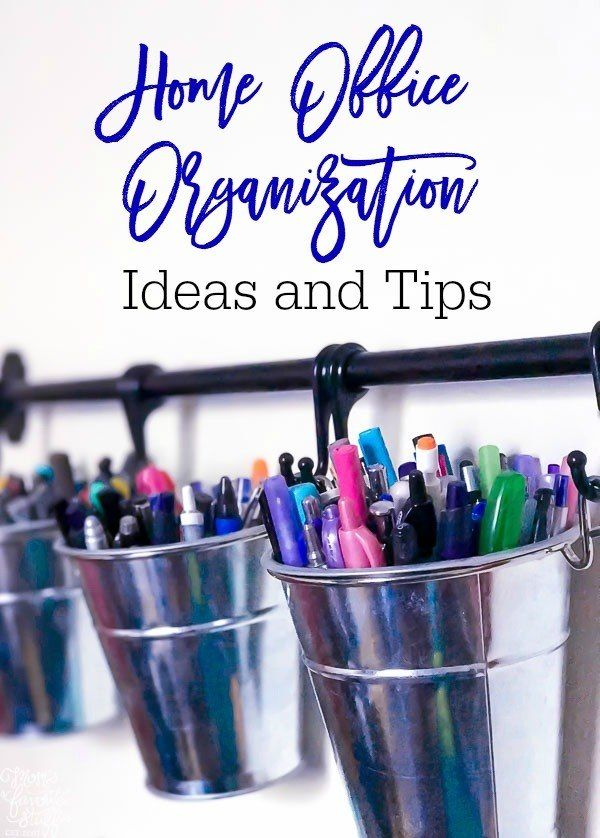 how to stay organized in life