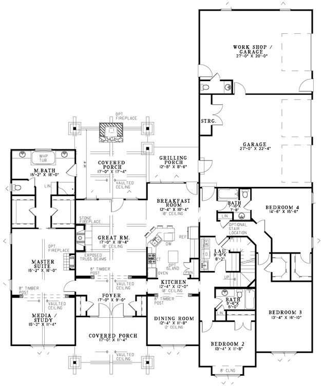 17 best images about home plans on pinterest craftsman for Mountain view floor plans