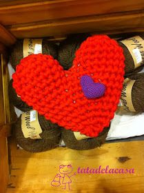 En mi cajita de costura by Tatadelacasa: Corazón de trapillo (patrón) Feliz San Valentín
