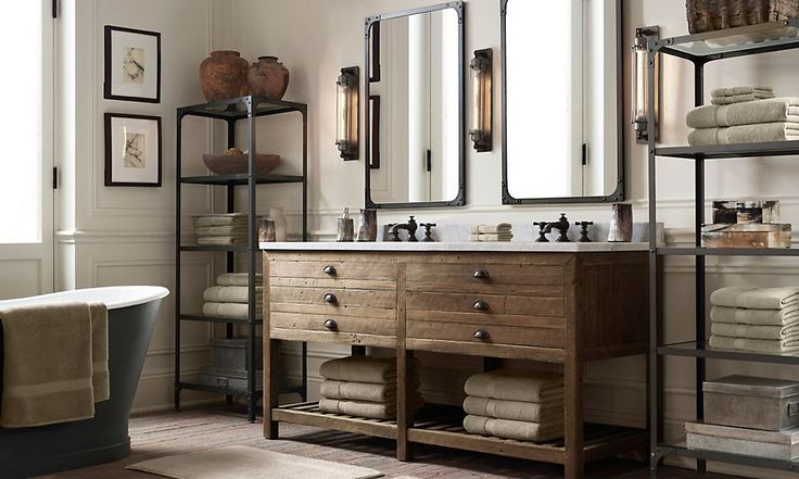 Rooms restoration hardware bathroom pinterest Restoration hardware bathroom