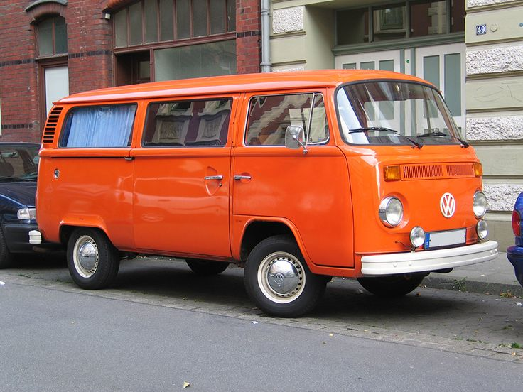 Orange Bus for Orange Door Daycare
