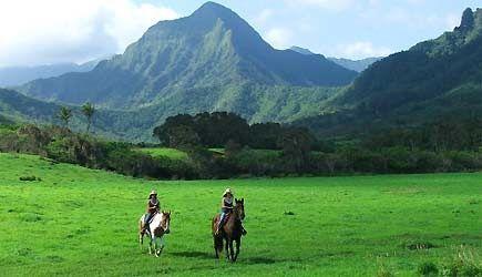 Kualoa Ranch Horseback Ride