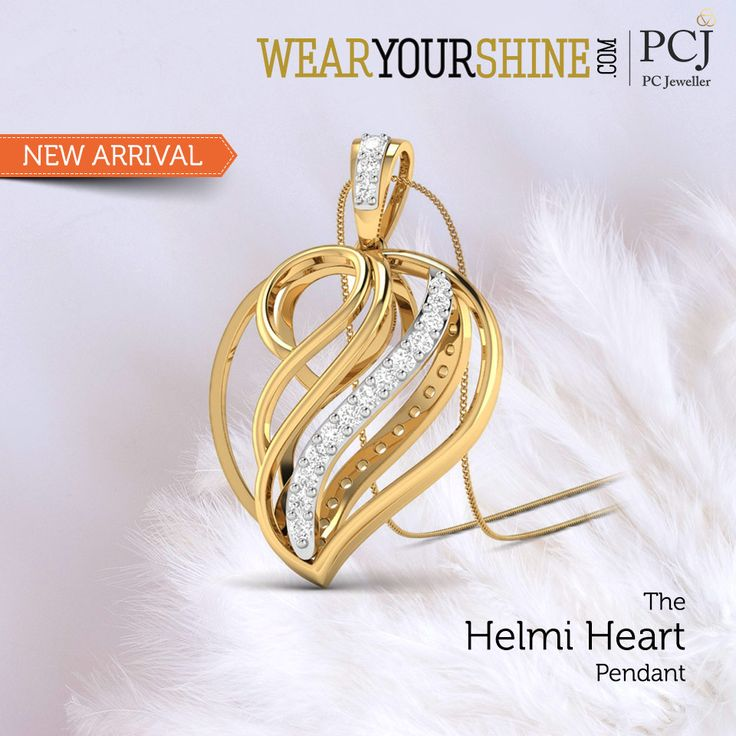 "The best gift to give is give all of your heart and with ""The Helmi Heart Pendant"" it's just the right gift  #InstaJewellery #jewelry #Jewellery #diamond #Love #Pendants #PCJeweller"